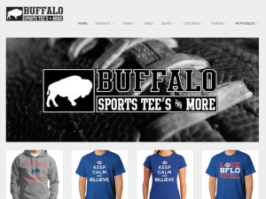Buffalo Sports Tees – Website